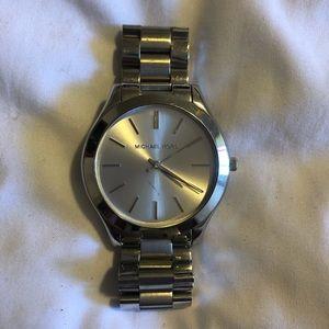 Silver Michael Kors Watch